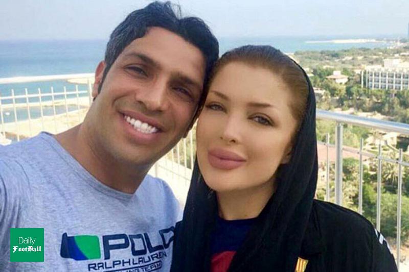 جدیدترین عکس همسر سپهر حیدری در اینستاگرام