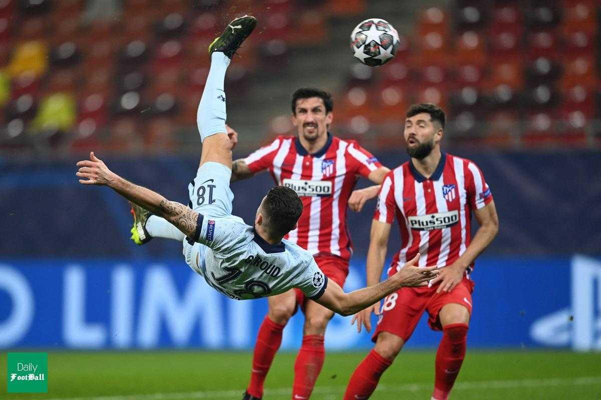 نتیجه بازی اتلتیکو مادرید و چلسی| پیروزی آبی های لندن