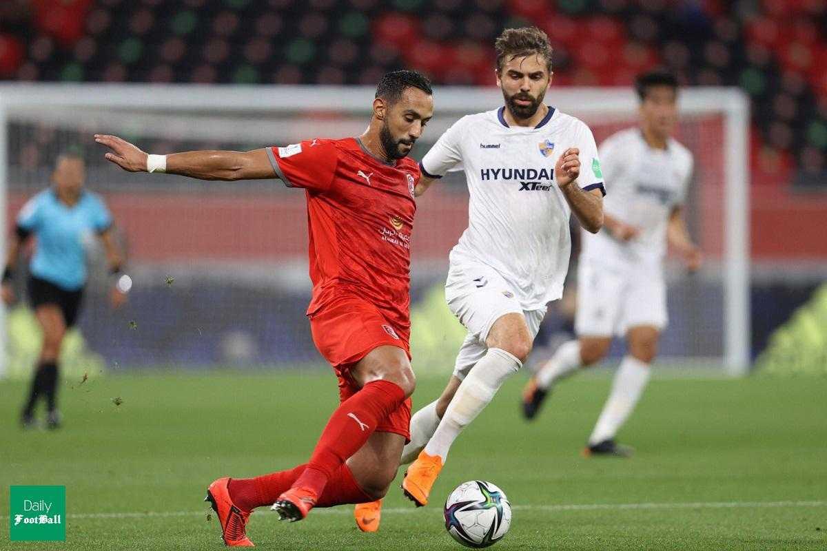نتیجه بازی الدحیل و اولسان هیوندای| پیروزی الدحیل با پس گل علی کریمی