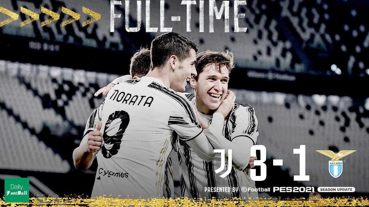 نتیجه بازی یوونتوس و لاتزیو| پیروزی یووه در غیاب رونالدو