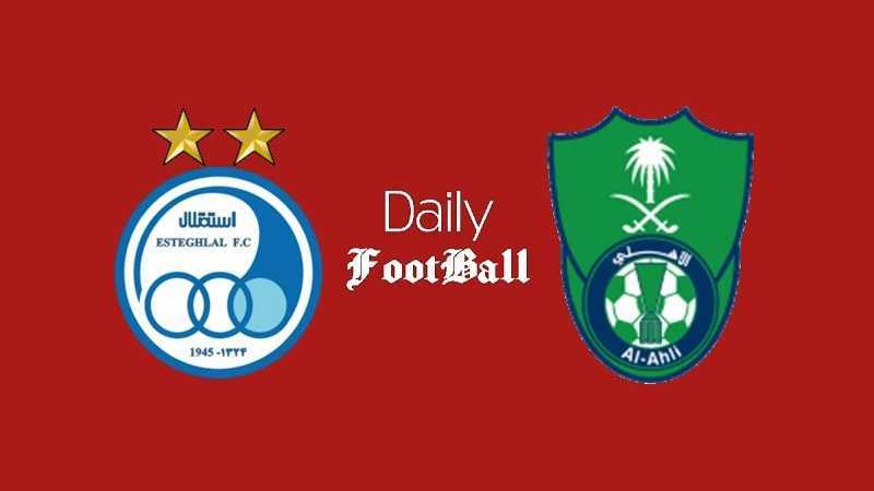 ساعت بازی استقلال و الاهلی عربستان امشب پنجشنبه 26 فروردین 1400