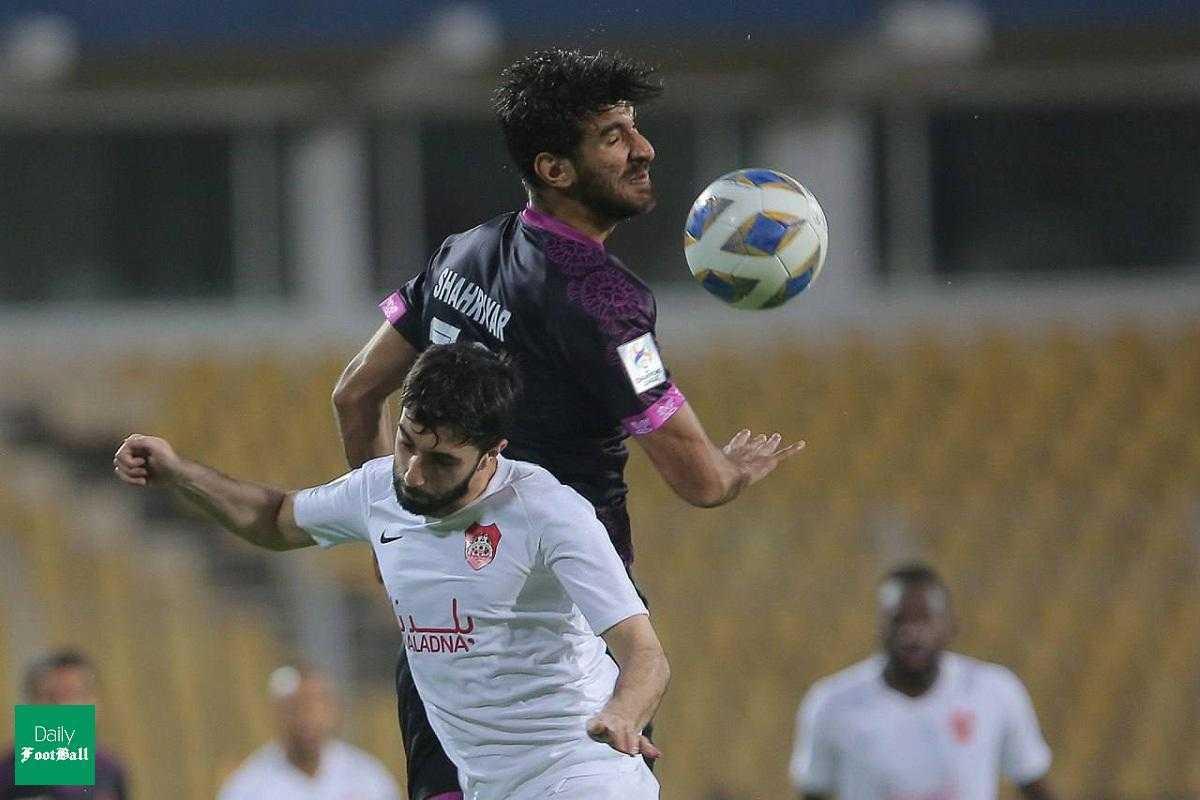 خلاصه بازی پرسپولیس و الریان قطر امشب پنجشنبه ۹ اردیبهشت ۱۴۰۰