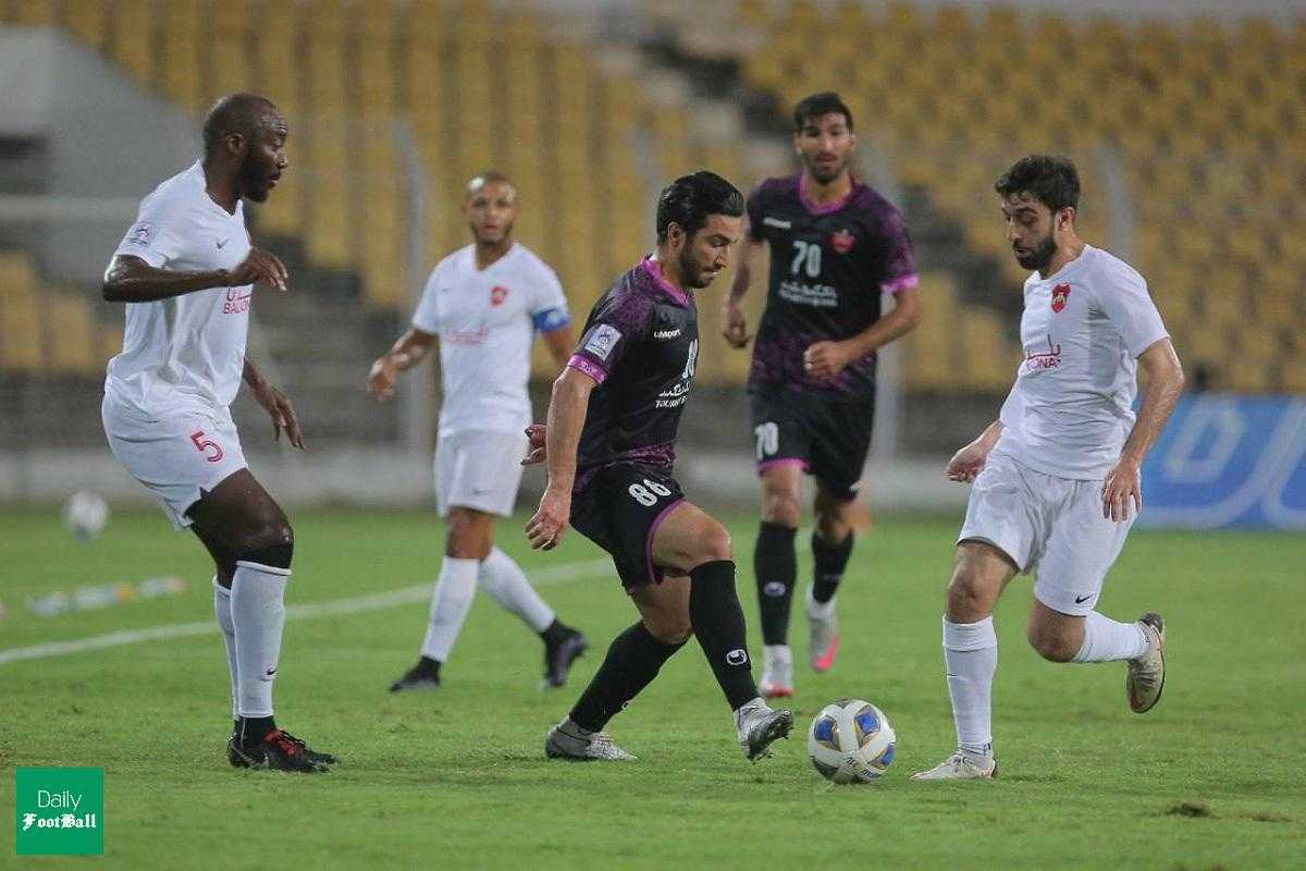 نتیجه بازی برگشت پرسپولیس و الریان در مرحله گروهی لیگ قهرمانان آسیا ۲۰۲۱