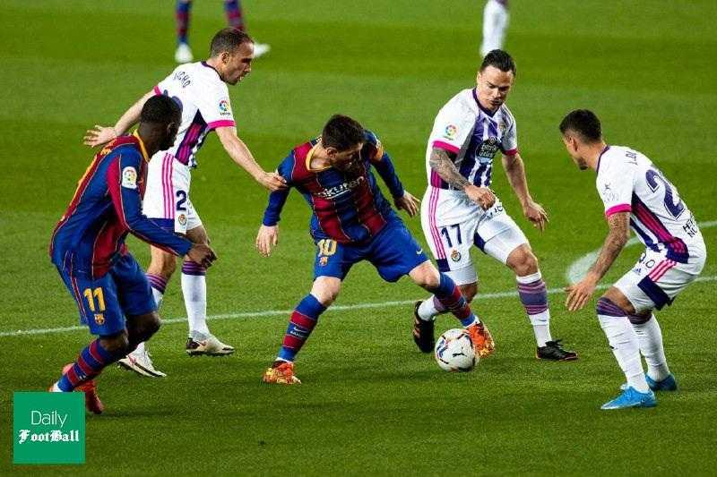 فیلم| خلاصه بازی بارسلونا و وایادولید دیشب دوشنبه ۱۶ فروردین ۱۴۰۰