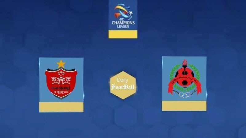 نتیجه بازی برگشت پرسپولیس و الریان در مرحله گروهی لیگ قهرمانان آسیا 2021